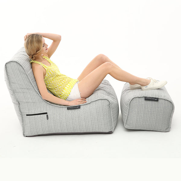 Evolution Chaise - Silverline