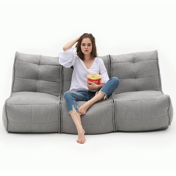 Movie Couch - Keystone Grey