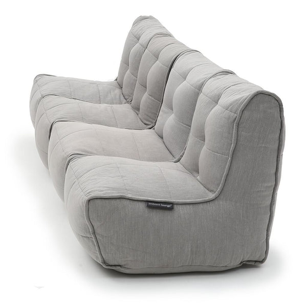 Quad Couch - Keystone Grey