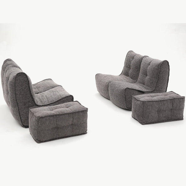 Quad Couch - Luscious Grey