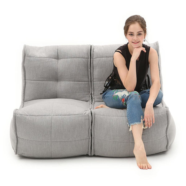 TWIN COUCH - Keystone Grey