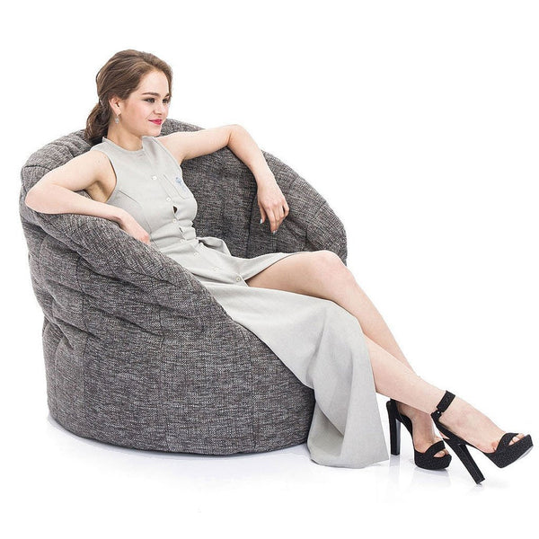Butterfly Chaise - Luscious Grey
