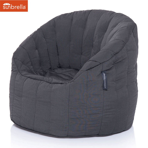 BUTTERFLY Sofa - Black Rock (Sunbrella)
