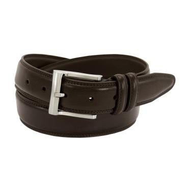Brown Pebbled Leather Belt