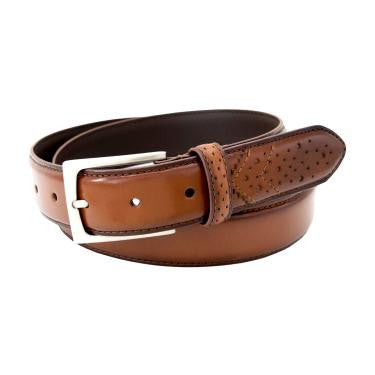 Full-Grain Wing Tip Belt