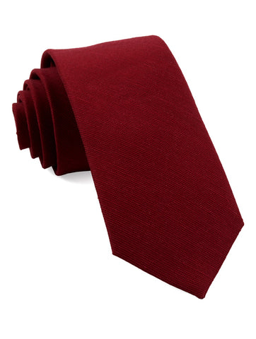 Red Cardinal Solid Tie