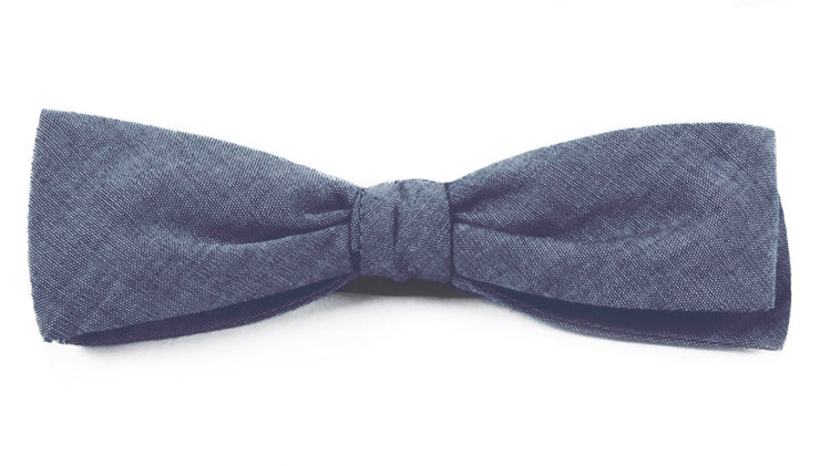 Warm Blue Classic Batwing Bow Tie