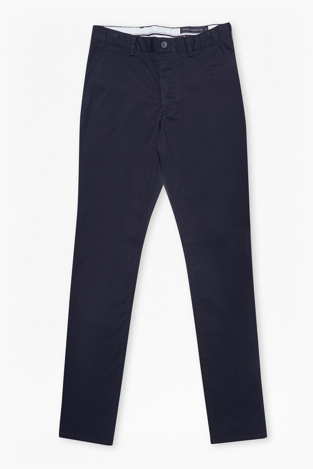 French Connection Stretch Slim Marine Blue Chino