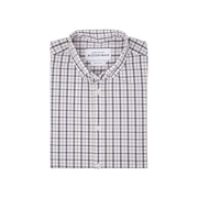 Mizzen + Main Moore Blue White Multi Check Shirt - FINAL SALE