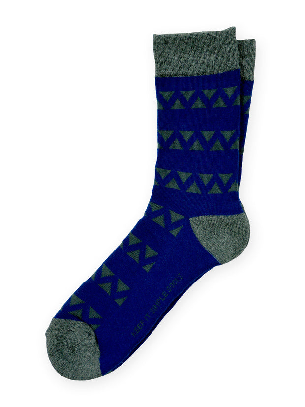 Keep It Simple Midnight Scaffold Socks