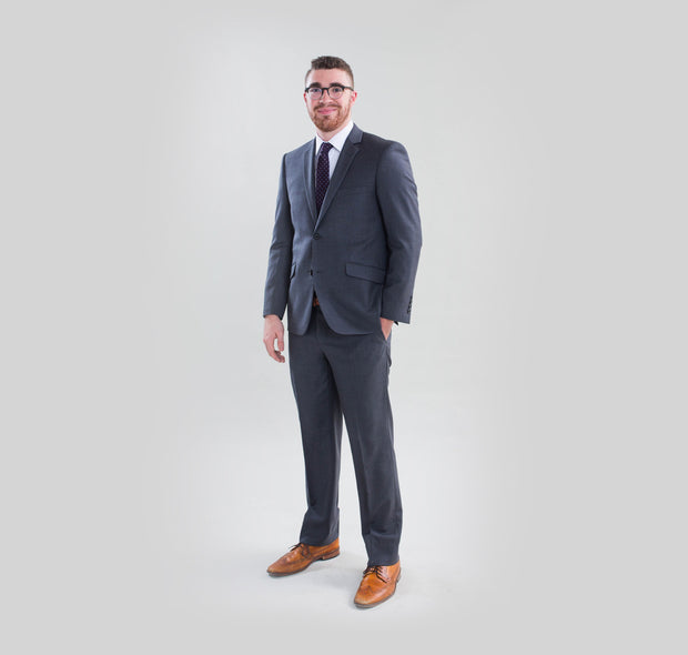 Pursuit Medium Gray Slim Suit Coat - FINAL SALE