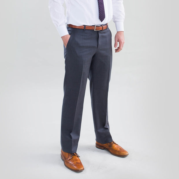 Pursuit Medium Gray Slim Suit Pants