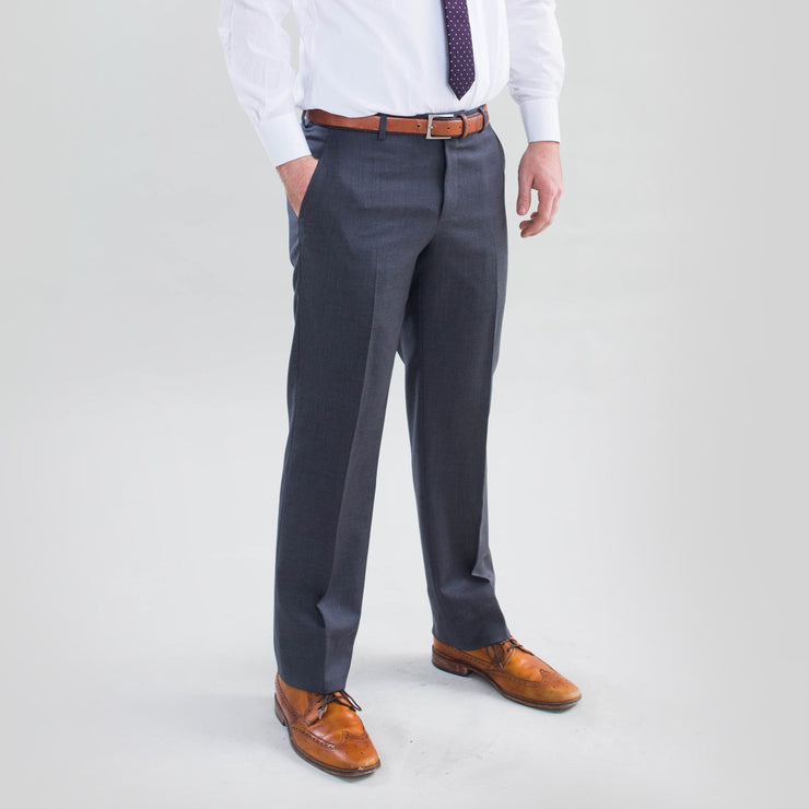 Pursuit Medium Gray Slim Suit Pants - FINAL SALE