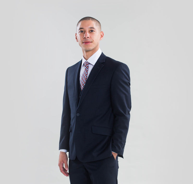 Pursuit Navy Slim Fit Suit Coat - FINAL SALE