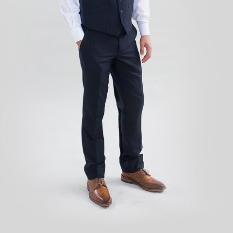 Pursuit Navy Slim Fit Suit Pant