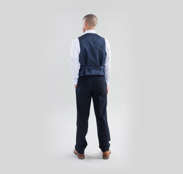 Pursuit Navy Slim Fit Suit Pant - FINAL SALE