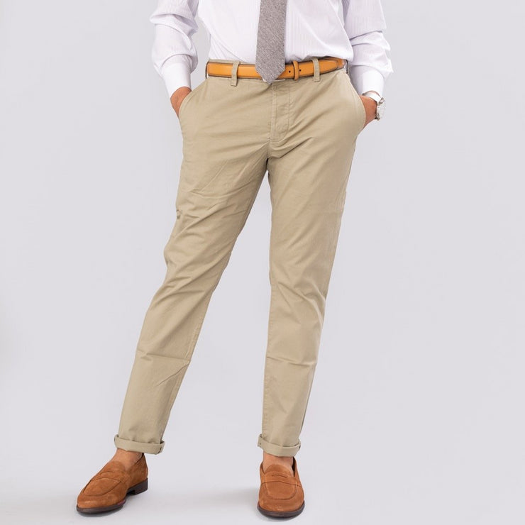 French Connection Silver Sage Machine Stretch Chino