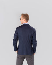 Pursuit Navy Performance Stretch Unconstructed Blazer