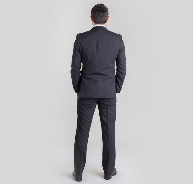 Pursuit Black Pinstripe Small Batch Suit - FINAL SALE
