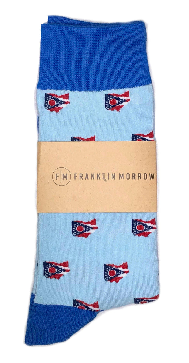 Franklin Morrow Ohio Proud Sock