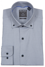 Proper Shirting Flannel Slim Dress Shirt
