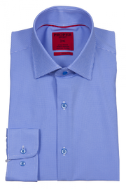 Proper Sport Mini Diamond Slim Performance Stretch Dress Shirt