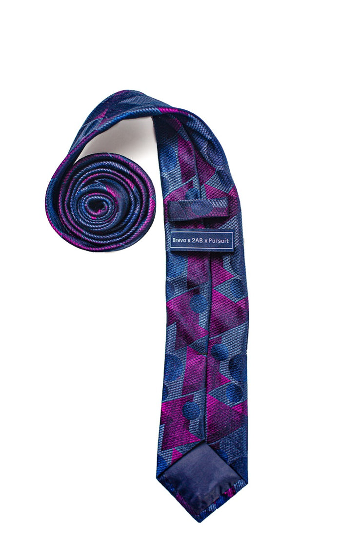 Beacons and Bravery Silk Tie