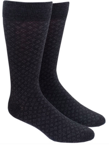 Speckled Charcoal Socks