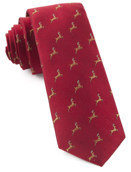 Apple Red Vixen Tie