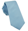 Steel Blue Solid Grosgrain Tie