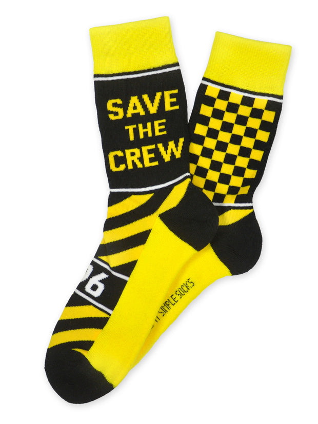 Keep It Simple Save The Crew Socks