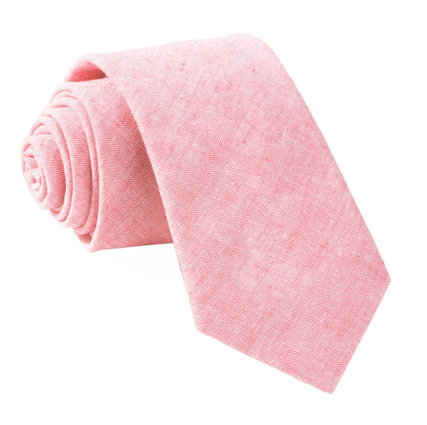 Pink Solid Breeze Tie