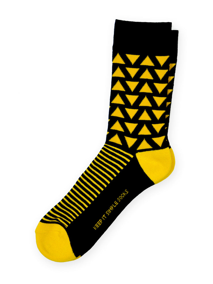 Keep It Simple Tri A New Angle Socks