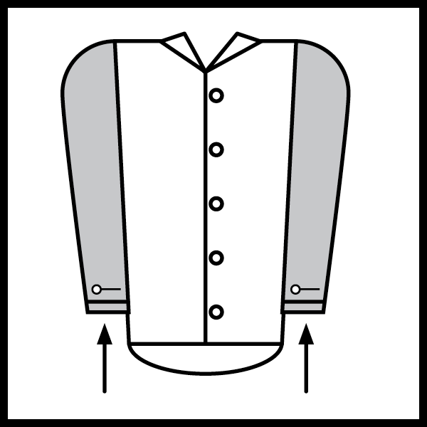 Shorten Shirt Sleeves