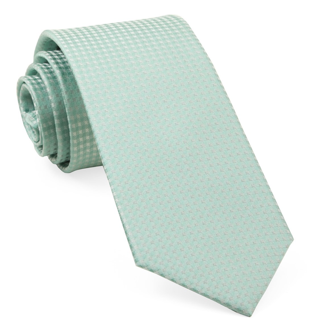 Spearmint Be Married Checks Tie