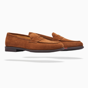Fliteless Tan Penny Loafer Shoe