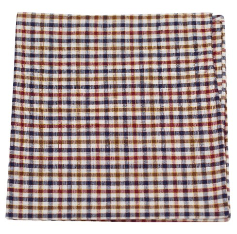 Ashland Plaid Pocket Square