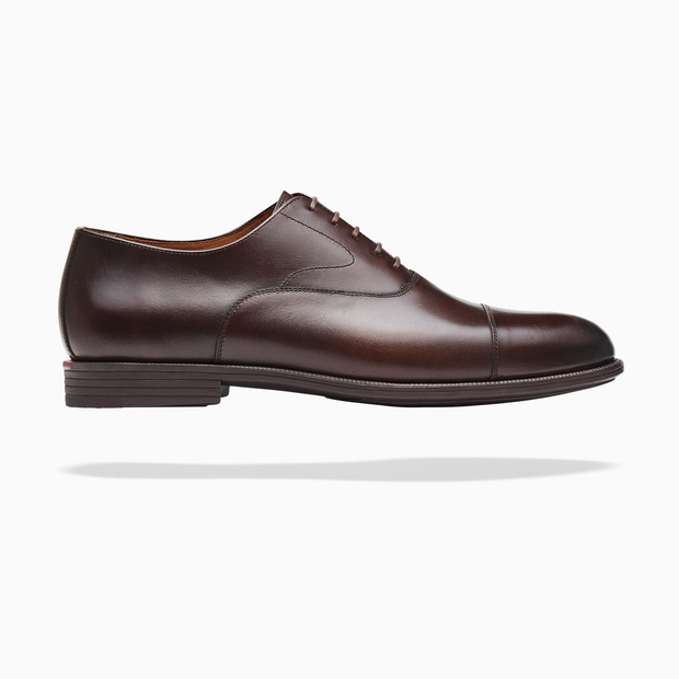 Fliteless Espresso Cap-Toe Oxford Shoe