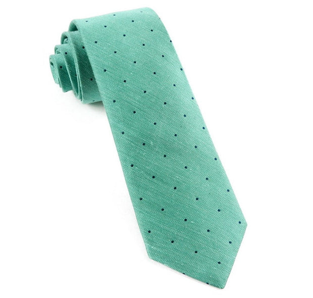 Mint Bulletin Dot Tie