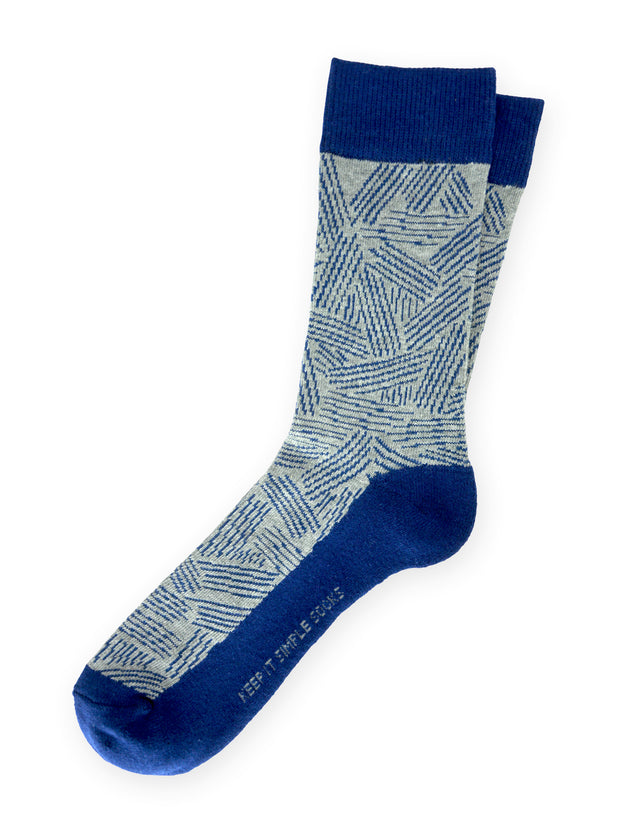Keep It Simple Pick-Up-Sticks Socks