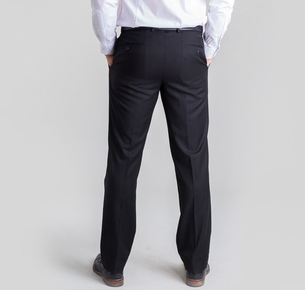 Pursuit Black Slim Suit Pant