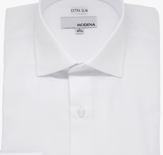 White Modena Extra Slim Dress Shirt