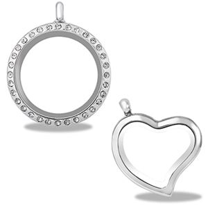 Forever in my heart jewelry minas hallmark step 2 choose a pendant style necklaces only bracelets and keychains have chains pre attached aloadofball Gallery