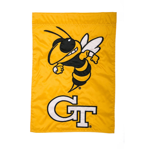 Georgia Tech Garden Flag