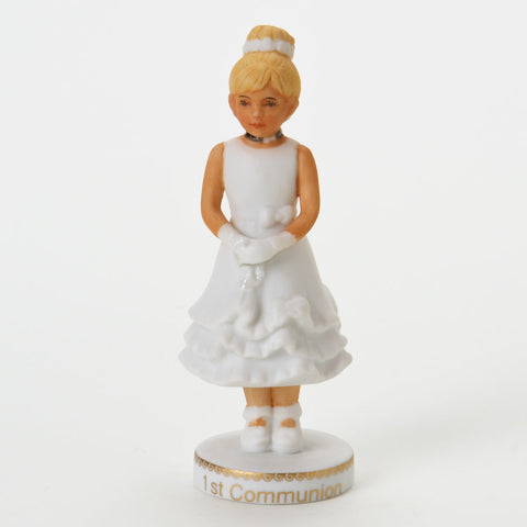 Blonde First Communion - Growing Up Girl