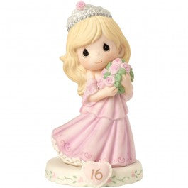 Growing In Grace, Age 16 Blonde Girl Figurine