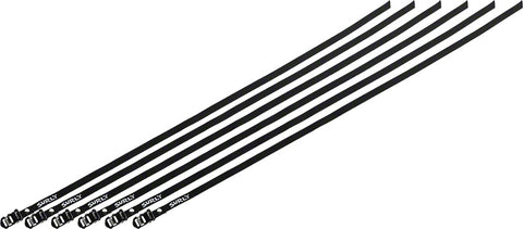 NEW Surly Junk Strap 120cm Rack Strap: Black with Stainless Buckle~ 6-Pack