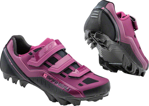 NEW Louis Garneau Sapphire Women's Cycling Shoes, Magenta