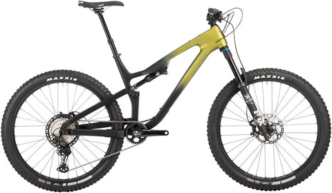 NEW Salsa Rustler Carbon XT - Green/Raw Fade Mountain Bike