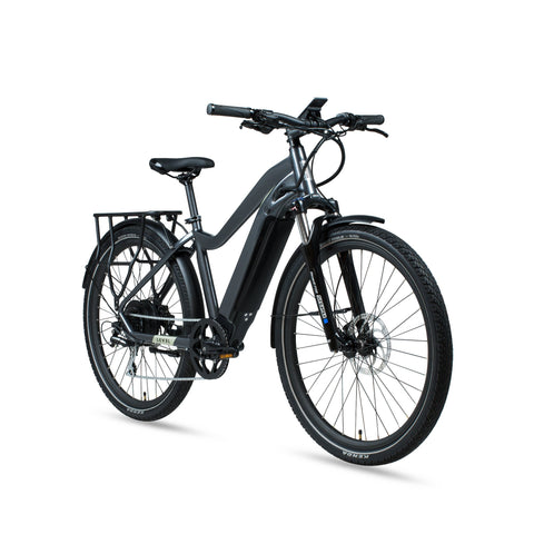 NEW 2020 Aventon Level Step Thru E-Bike, Earth Gray